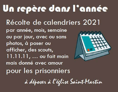 collecte calendriers
